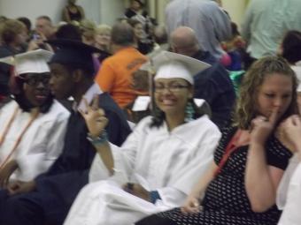 Desideria graduates!